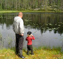fiske i Stöten fiske i Sälen